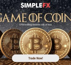 Game of Coins is back! Use the SimpleFX banners to earn money on the Game of Thrones